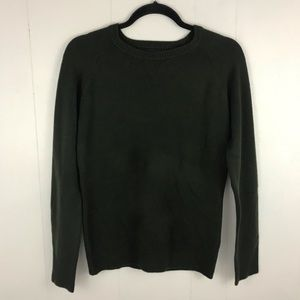 French Connection Dark Green Sweater Size M